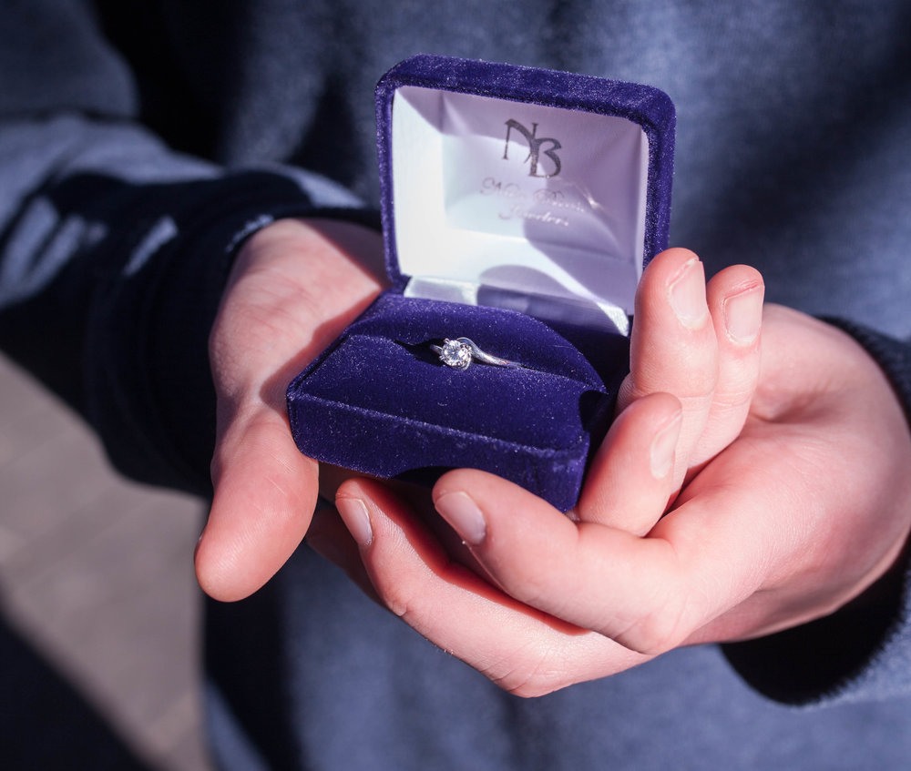 Proposal Ring In Hands