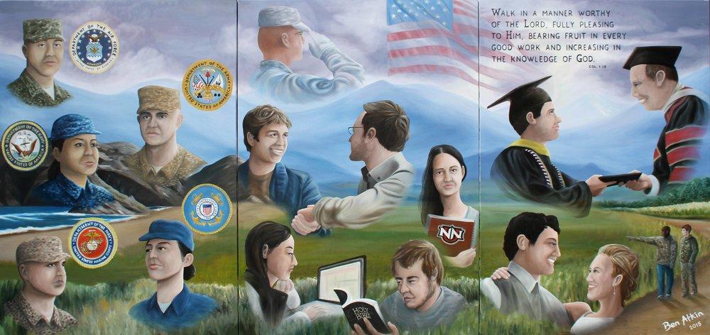 NNU Veteran Mural