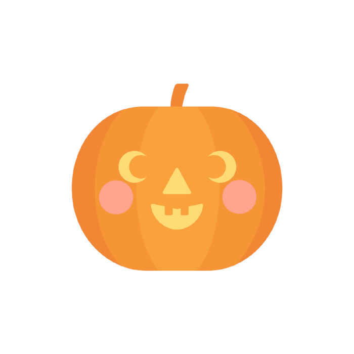 nicolka halloween cute pumpkin