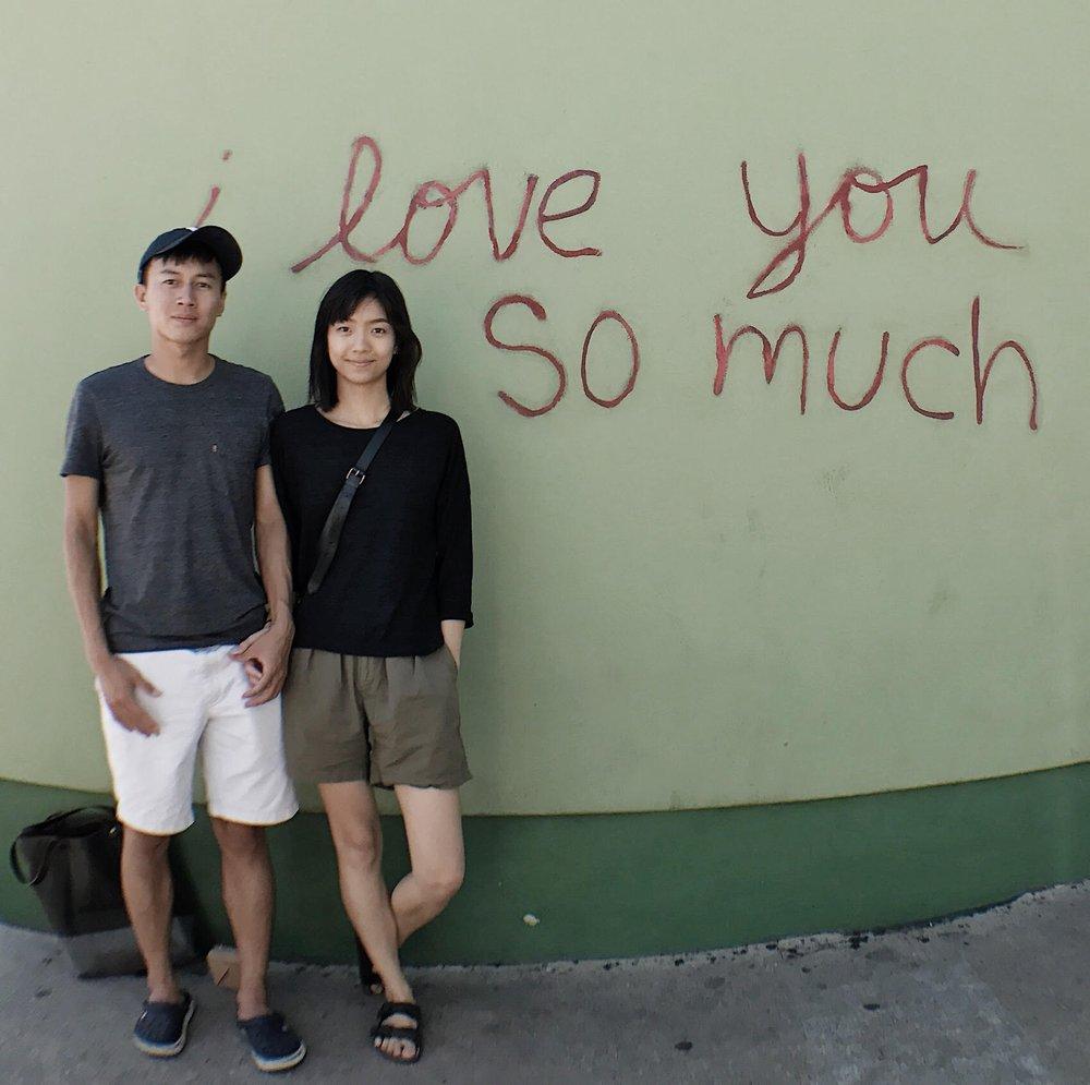▲ Yuzhuo and Phoebe