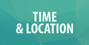 Time &  Location