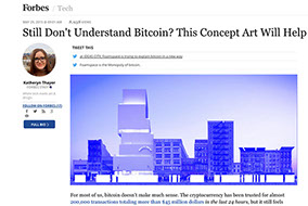 Forbes - Still Don't Understand Bitcoin? This Concept Art Will Help - April 2015