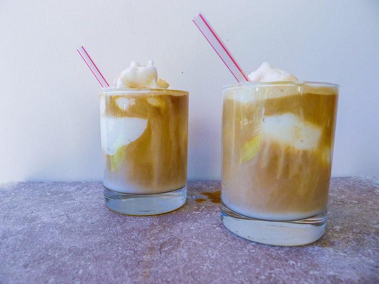 Coffee Coconut Slushy Creme