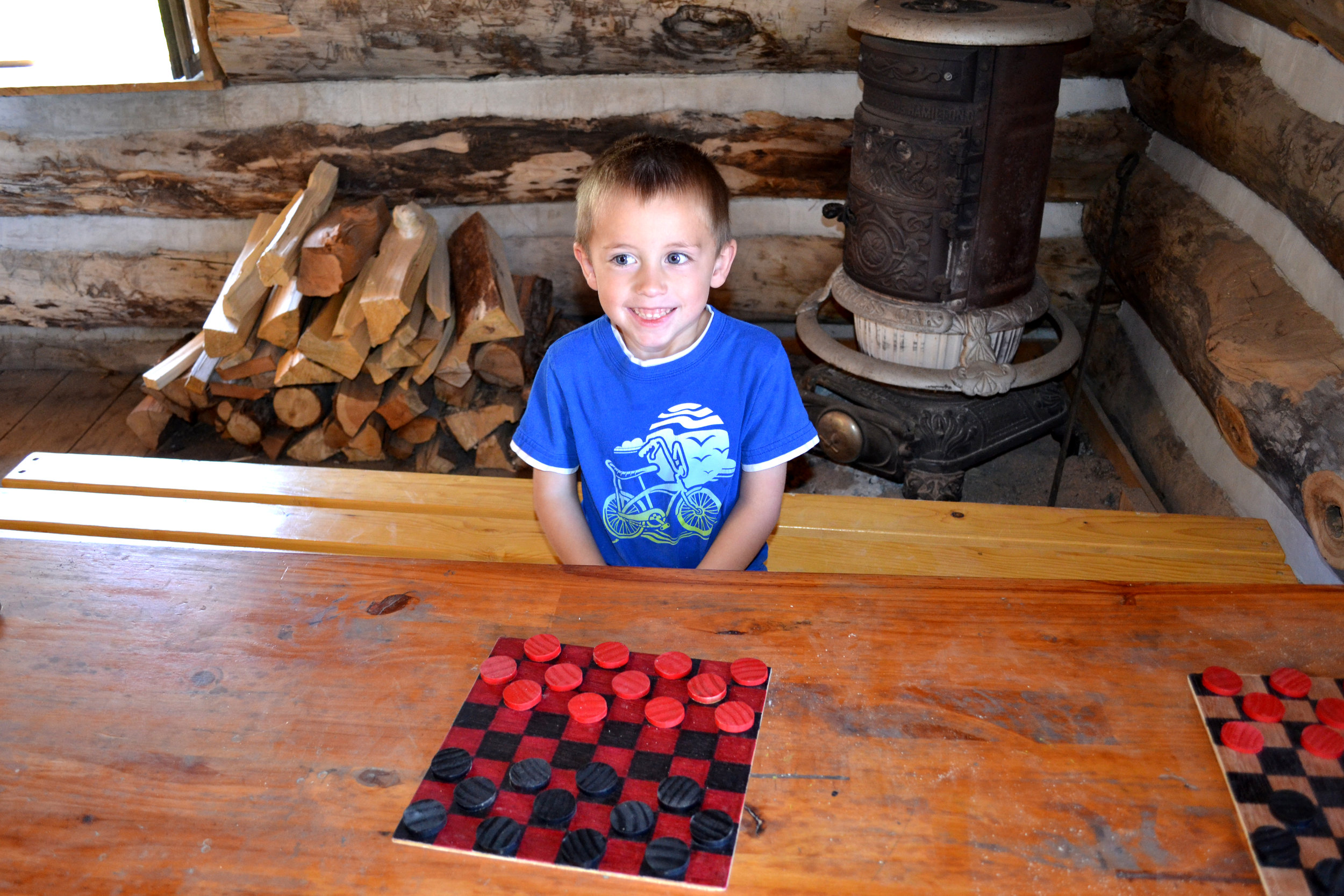 Ready for a checkers match?