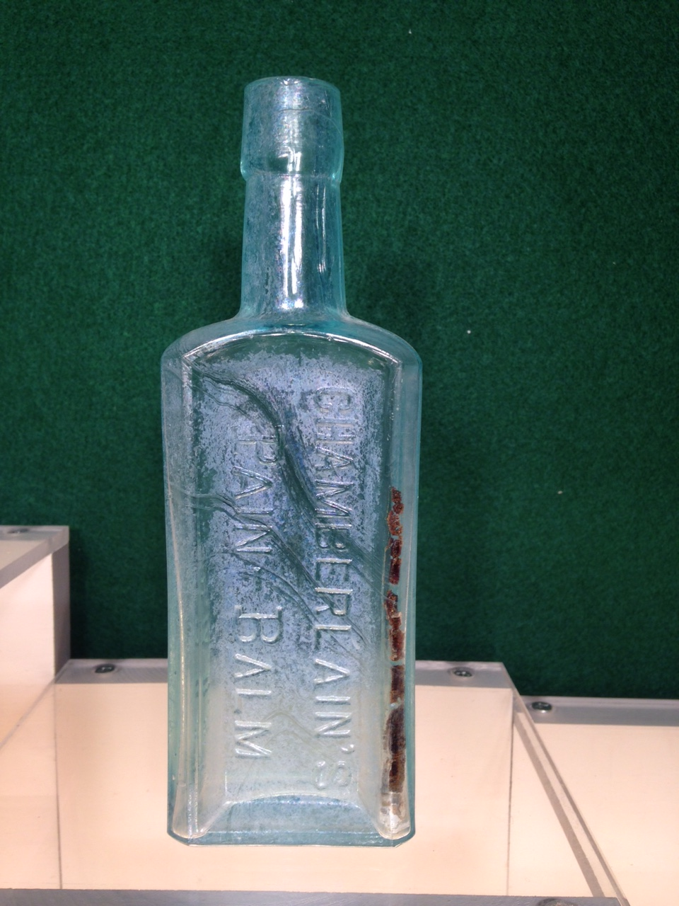 Chamberlain Medicine Bottle