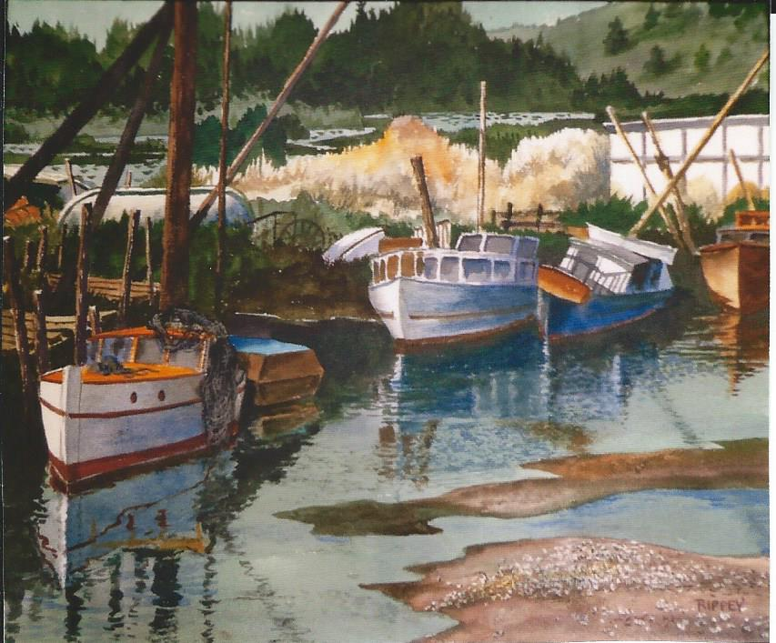 A Rippey nautical scene.