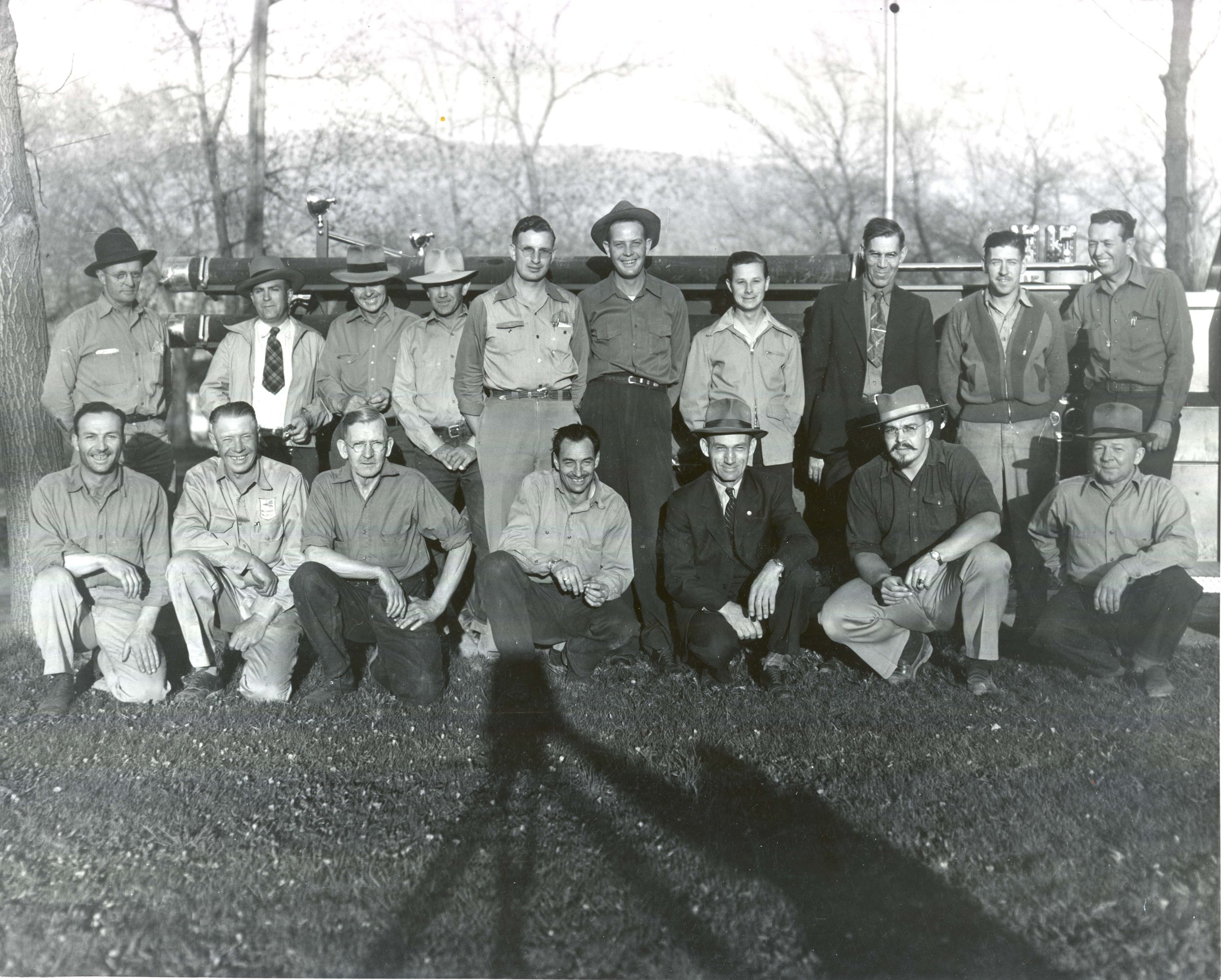 The Cedar City Fire Department circa 1948