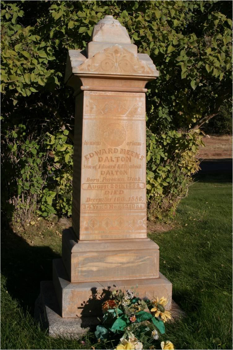 Dalton's Grave Marker