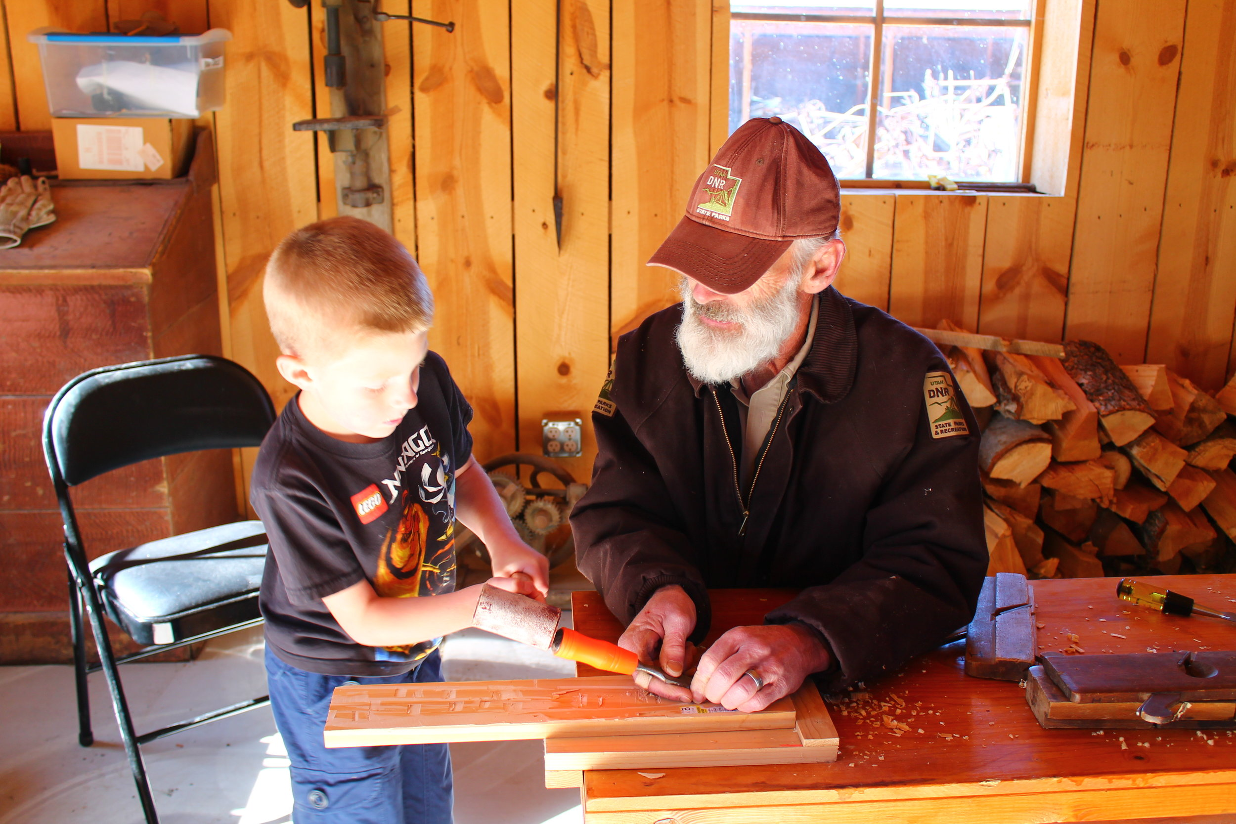 Pioneer wood working for all ages.