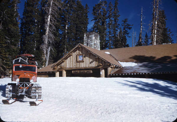 Cedar Breaks Lodge 1950. This photo is courtesy of Cedar Breaks National Monument