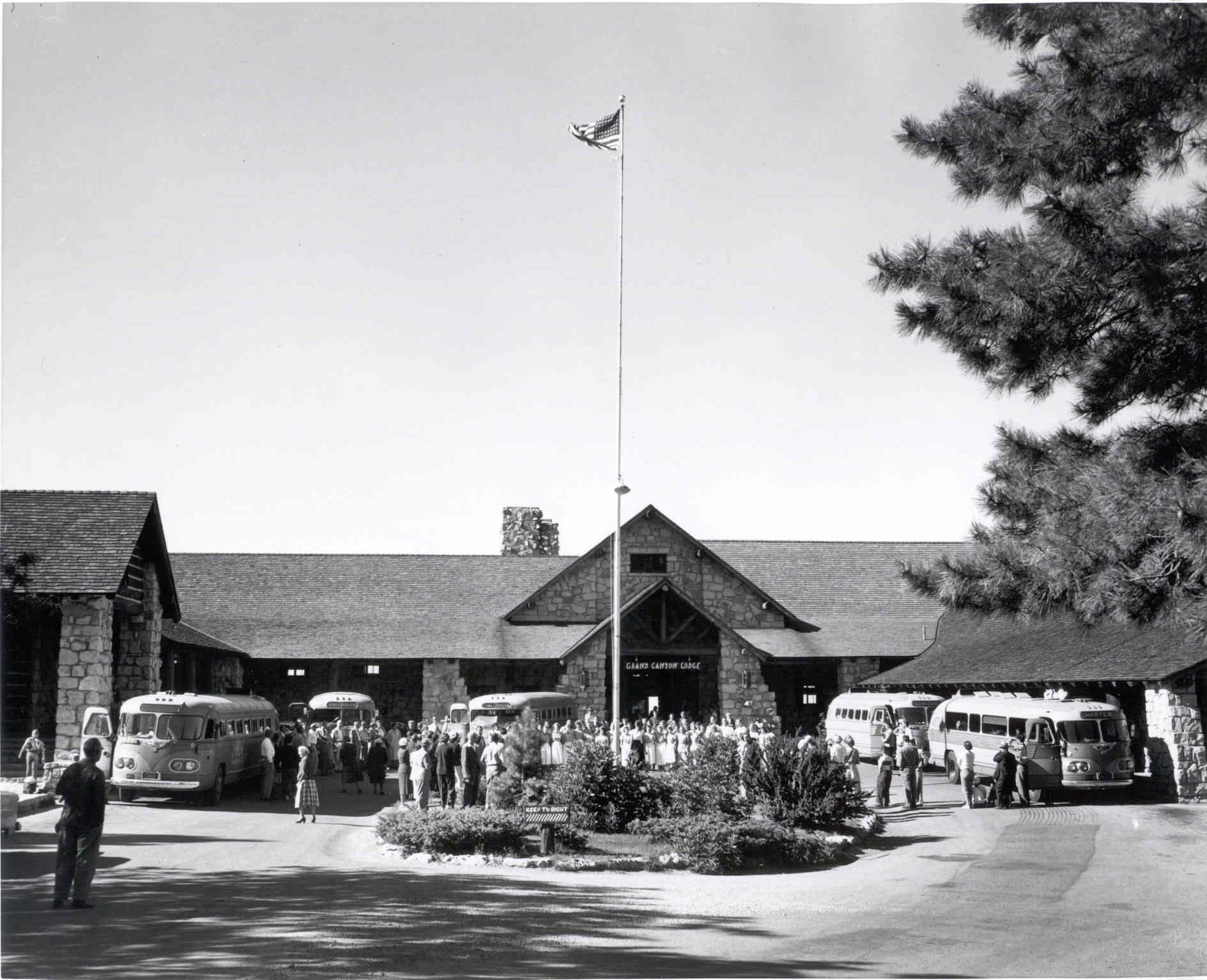 The Grand Canyon Lodge at the North Rim.