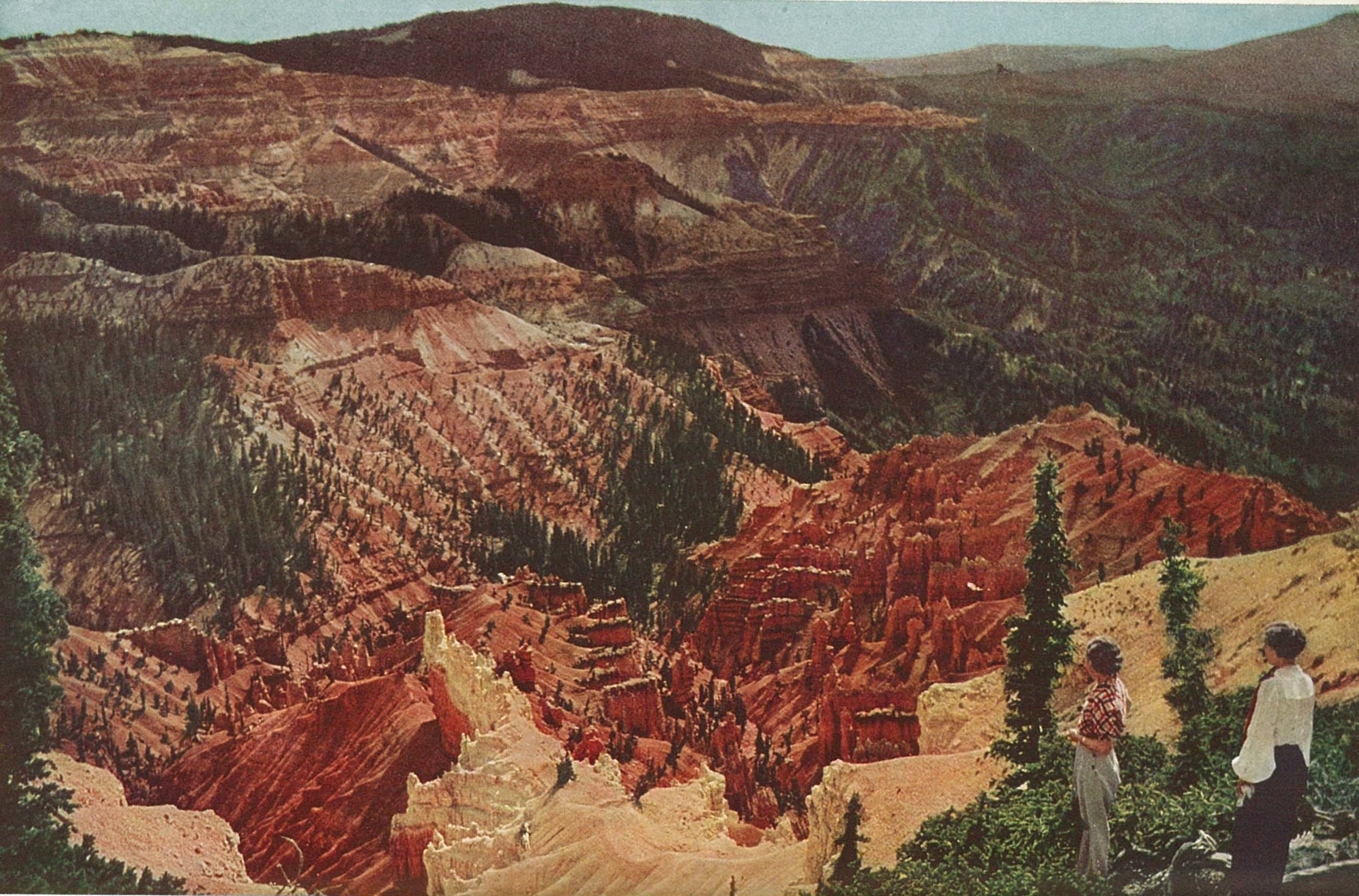 A 1936 Cedar Breaks view