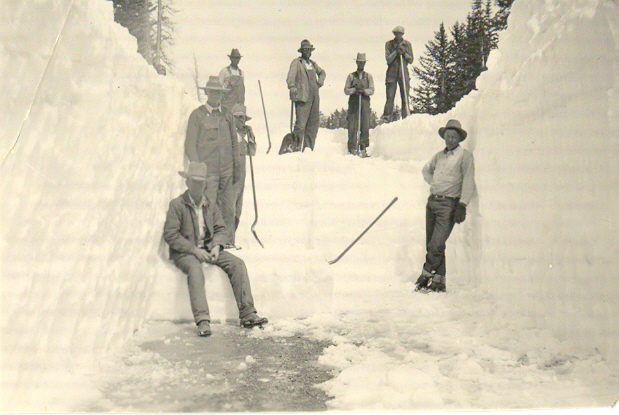 Snow removal at Cedar Breaks