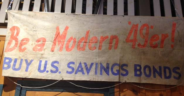 One of the original wagon banner's