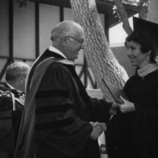 Former SUSC and SUU President Gerald R. Sherratt