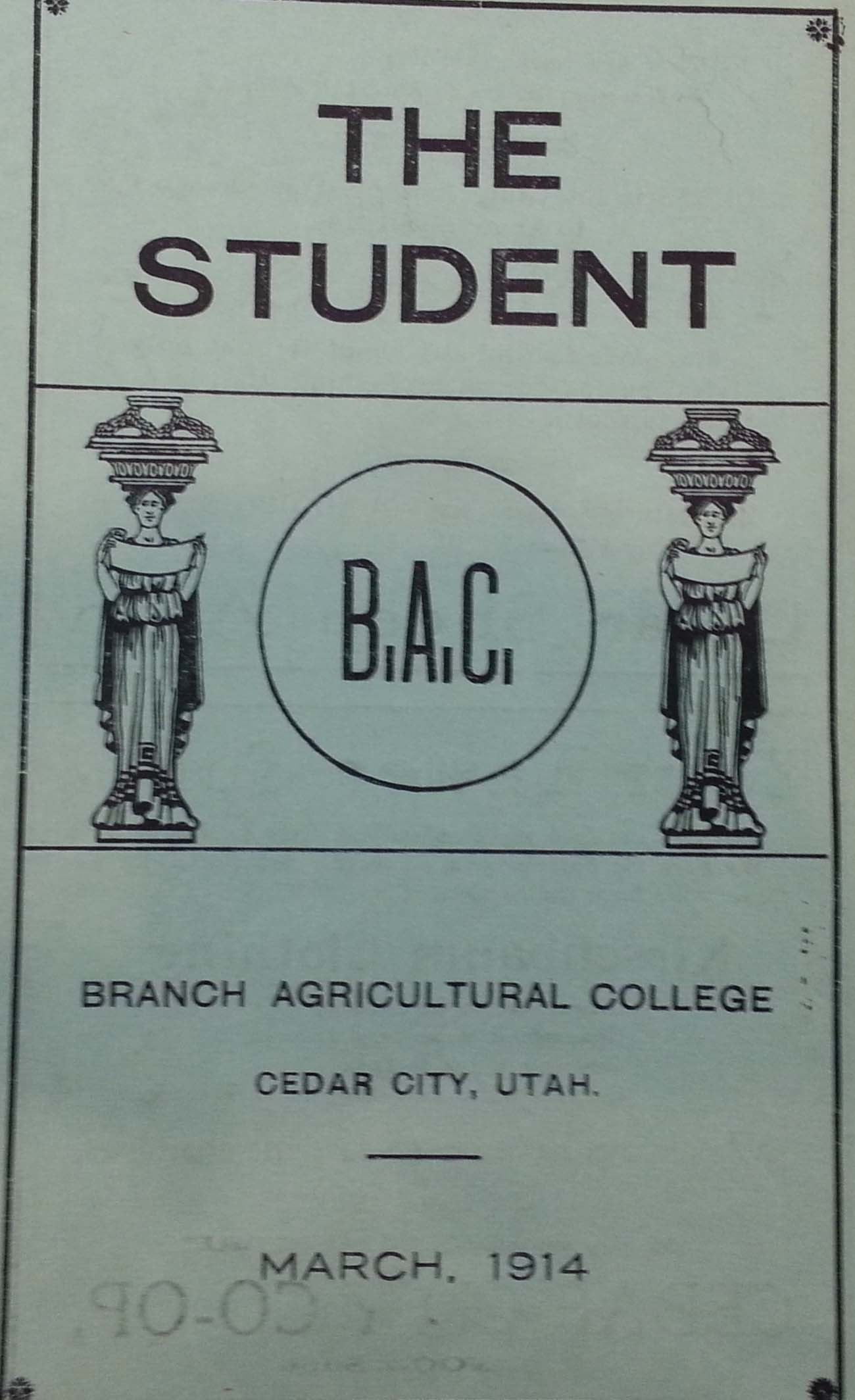 1914 Branch Agricultural College Journal