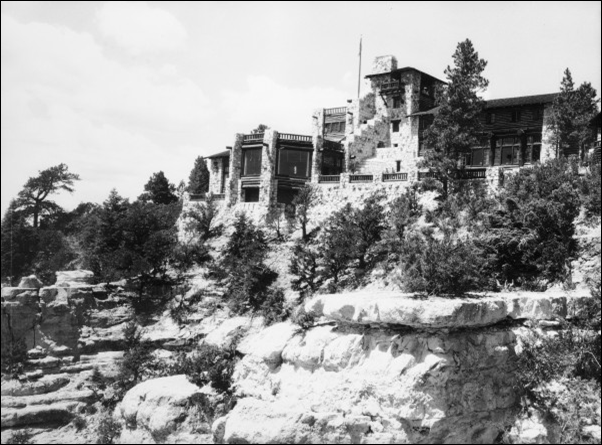 The original lodge at the North Rim.