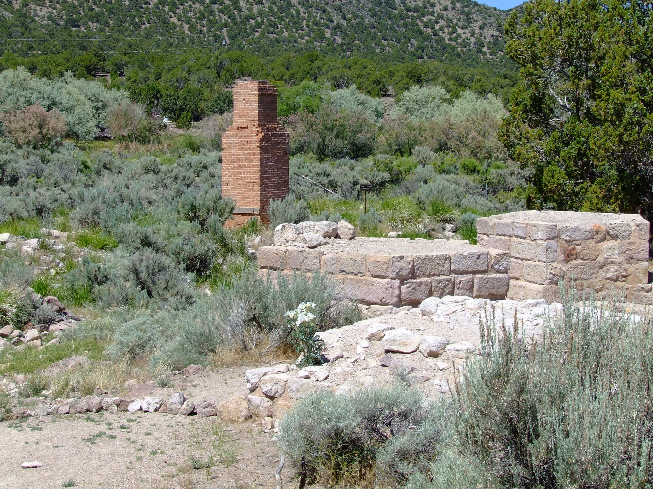 Ruins at Old Iron Town.