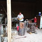 Kasey Warhurst our Museum Blacksmith will be pounding iron.