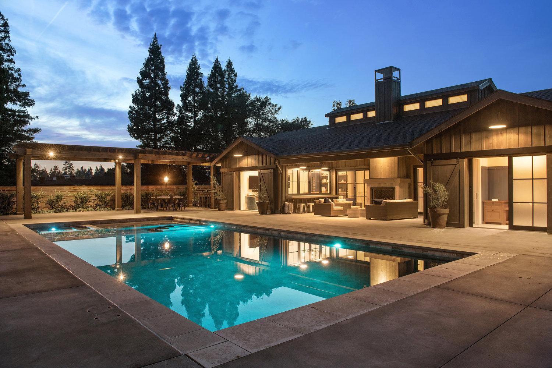 Twilights 13 jpg poolhouse wine country barn featured healdsburg estate · poolhouse