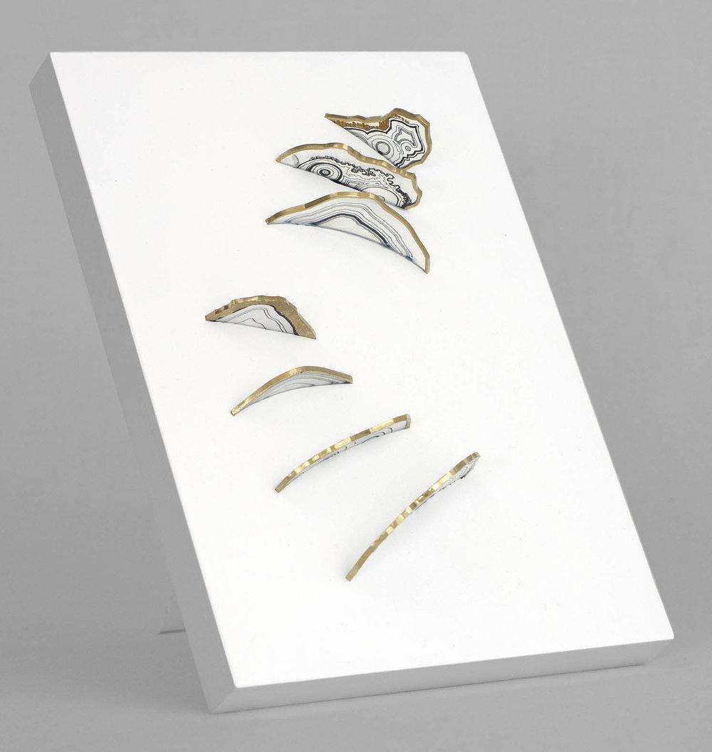 Stalagmites (Agate 2) –– SOLD