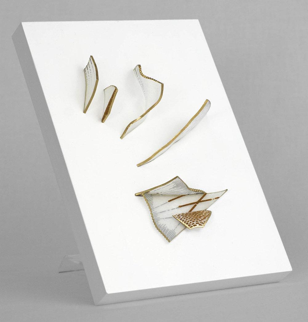 Stalagmites (Gold Wire)