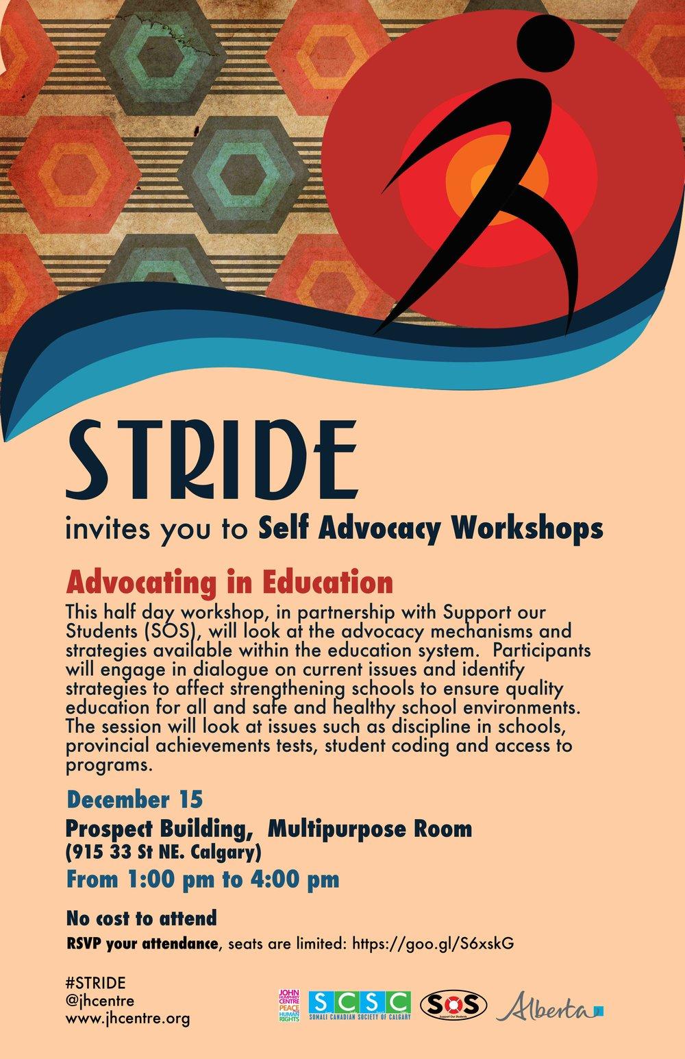 Advocating in Education Calgary Dec. 15