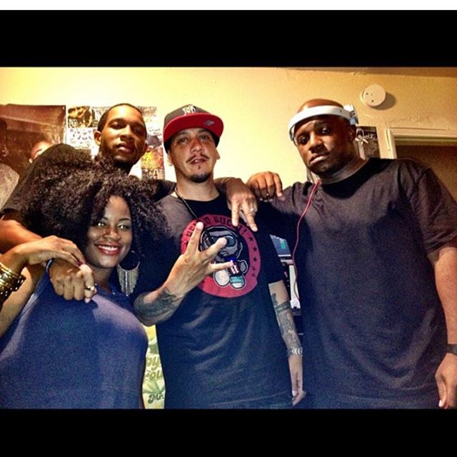Old ass pic when I was a guest on #HomegrownRadio wit the 2 hottest Dj's in Los Angeles @djhed @chuckdizzle Always appreciated the Love and Respect... #HipHop #radio #dj #music #producer #beats #nipseyhussle #rip #westcoast #eastcoast #midwest #south