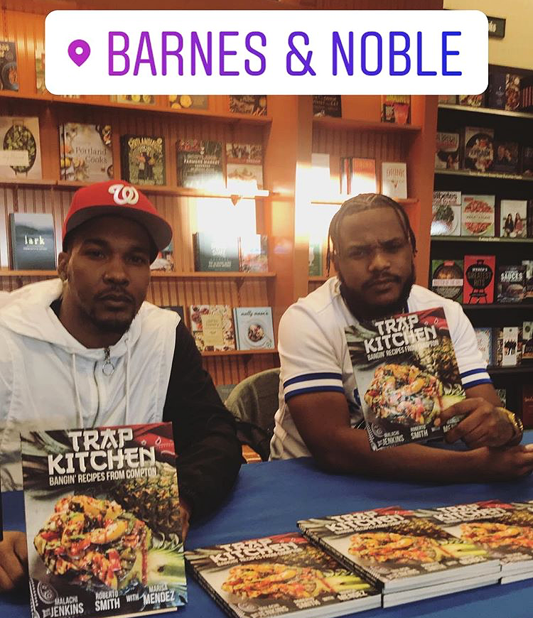 trap kitchen book signing in seattle washington - Trap Kitchen