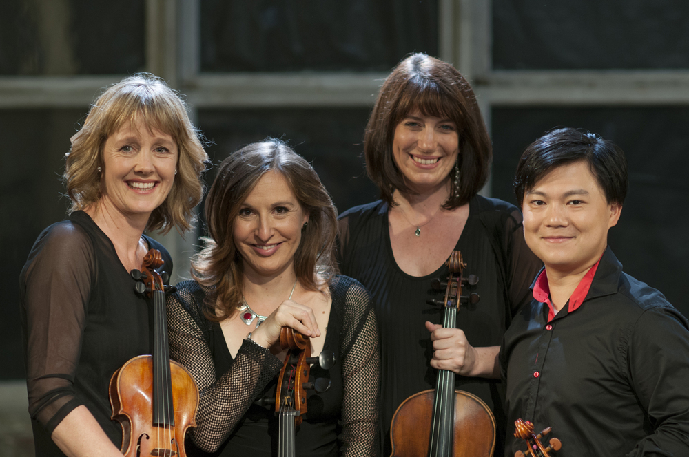 Flinders Quartet is Helen Ayres (violin), Shane Chen (violin), Helen Ireland (viola) and Zoe Knighton (cello).