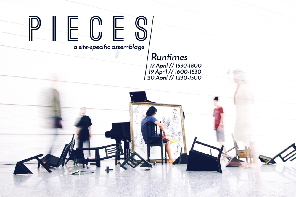 Pieces , Mick's collaborative site-specific work presented at the Sounding Now Festival