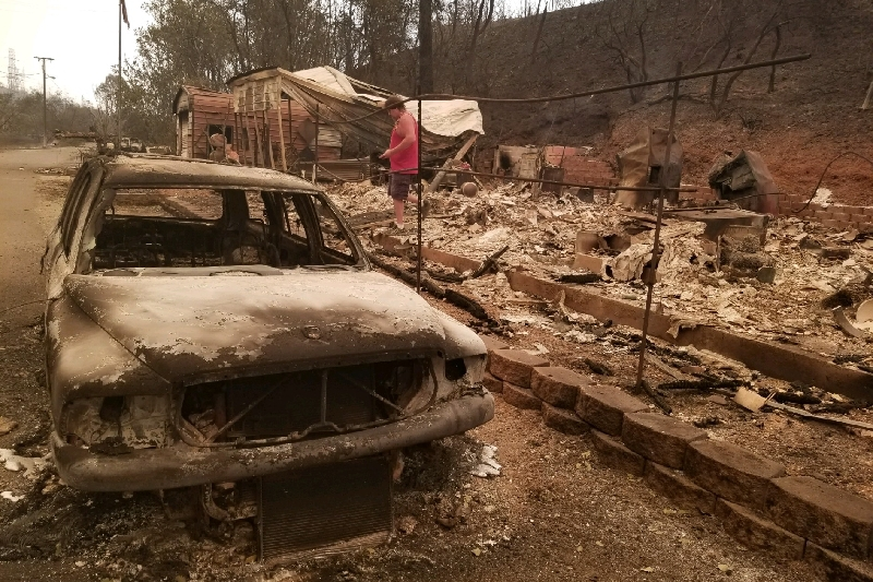 Mike and Christie Robinson - Gofundme: Save the Robinson Property Carr Fire