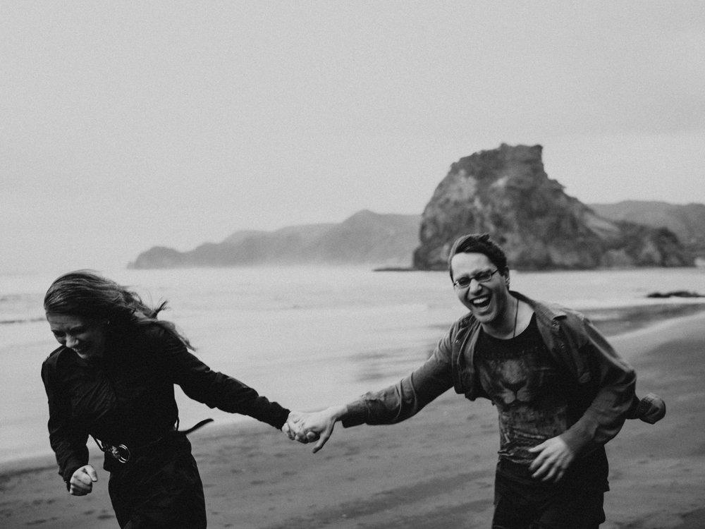 Kim + Chris - Piha, New Zealand8th December, 2018