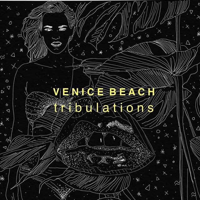 "With my best friend Jay Airniness we form VENUCE BEACH, and we play disco. ""Tribulation""  is the next single coming out this summer. I drew our cover like the other release on our label ELEVATE MELODIES."