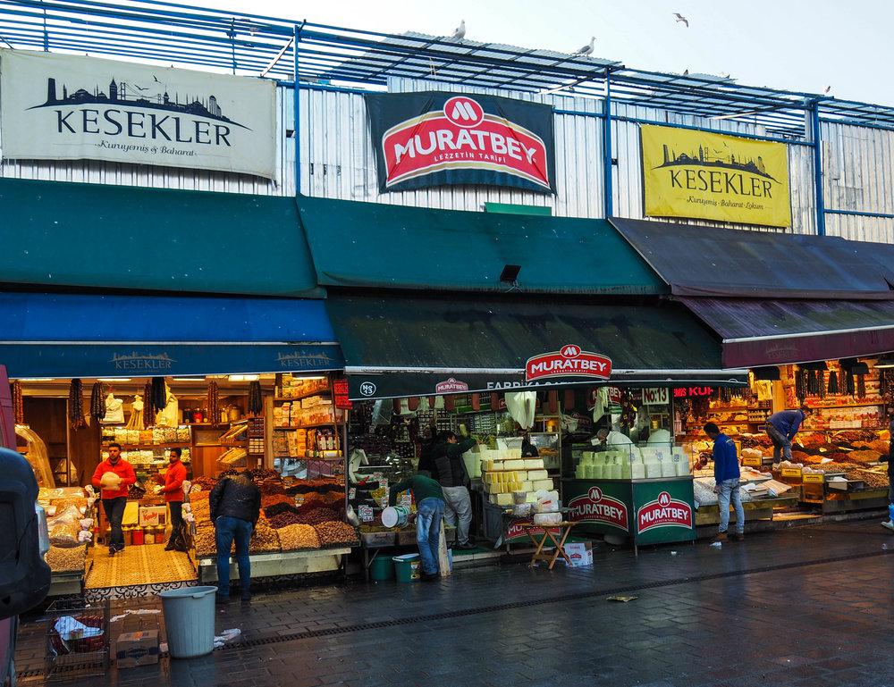 Spice Market Cheese Vendors