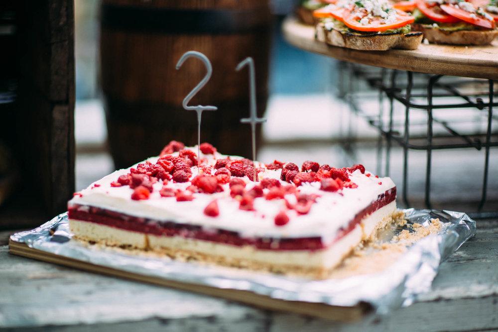 The Grounds of Alexandria, Birthday Cake