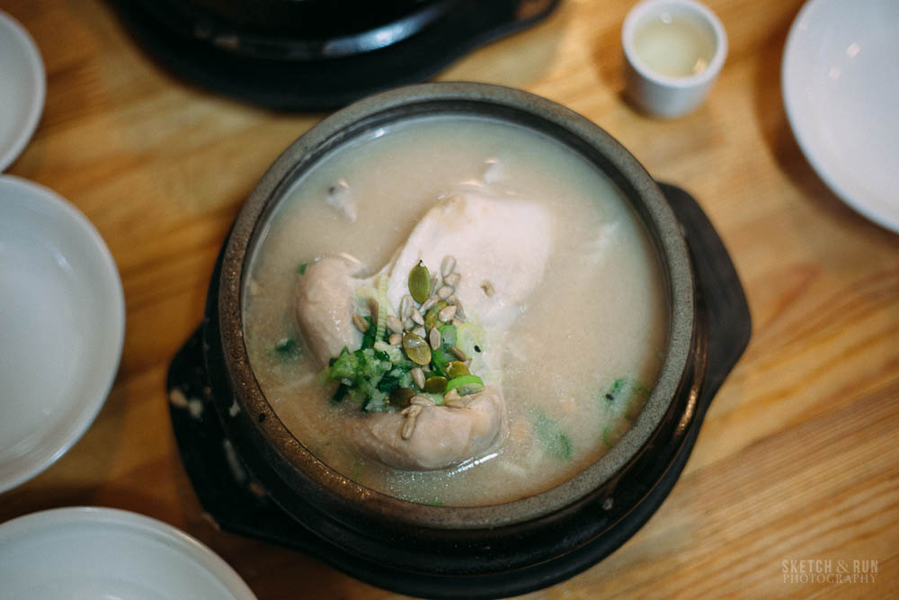 Samgyetang, Seoul, Korea, food, ginseng chicken