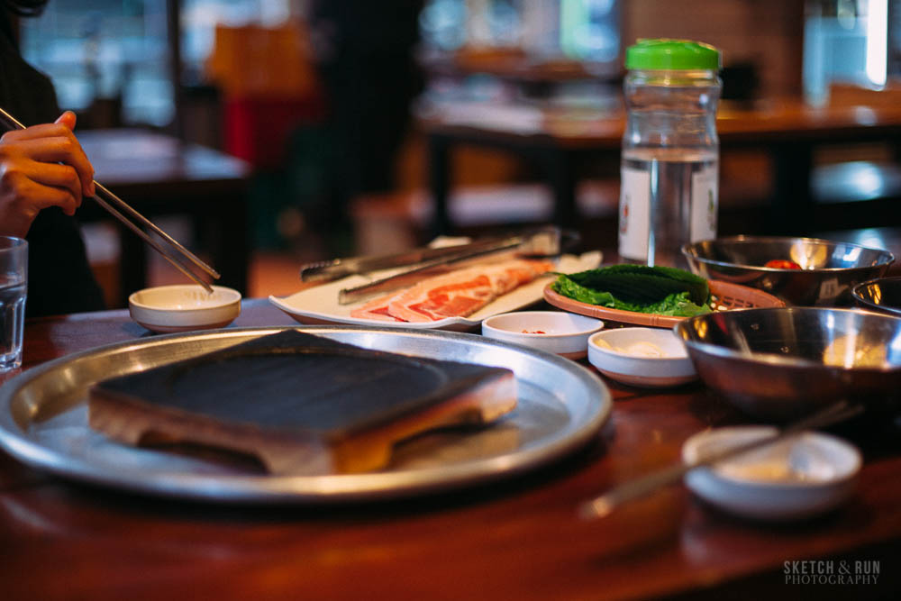 Samgyeopsal, korea, seoul, food, traditional, korean bbq