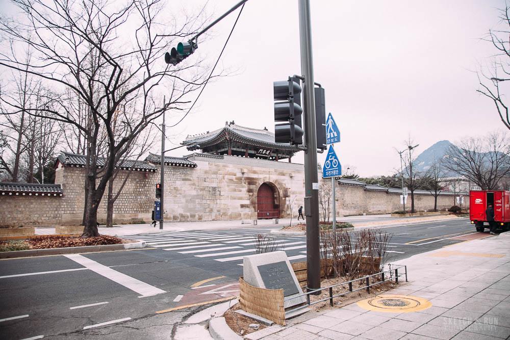 Insadong, Seoul, Korea, Sketch and Run, travel, travel photography, gyeongbokgong