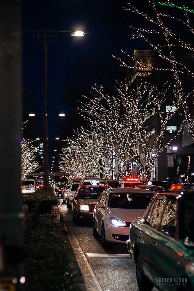 omotesando, tokyo, japan, illuminations, travel, travel photography, illuminations