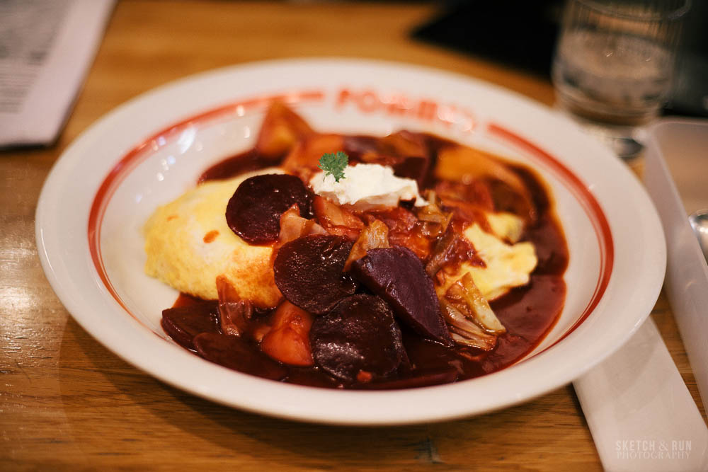 pomme no ki, omurice, shibuya, tokyo, food, japanese food, sketch and run, borsch,