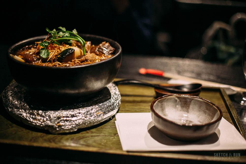 tsurutontan, udon, food, tokyo, hayashi udon, sketch and run