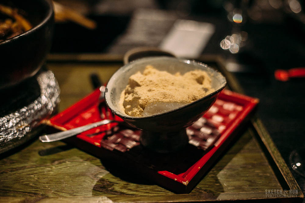 tsurutontan, warabi mochi, mochi, food, dessert, sketch and run, tokyo