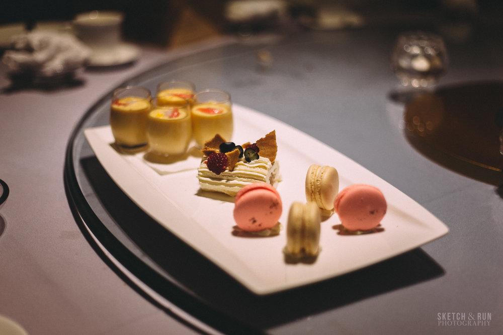 waitan, restaurant, food, sydney, dessert, macaron