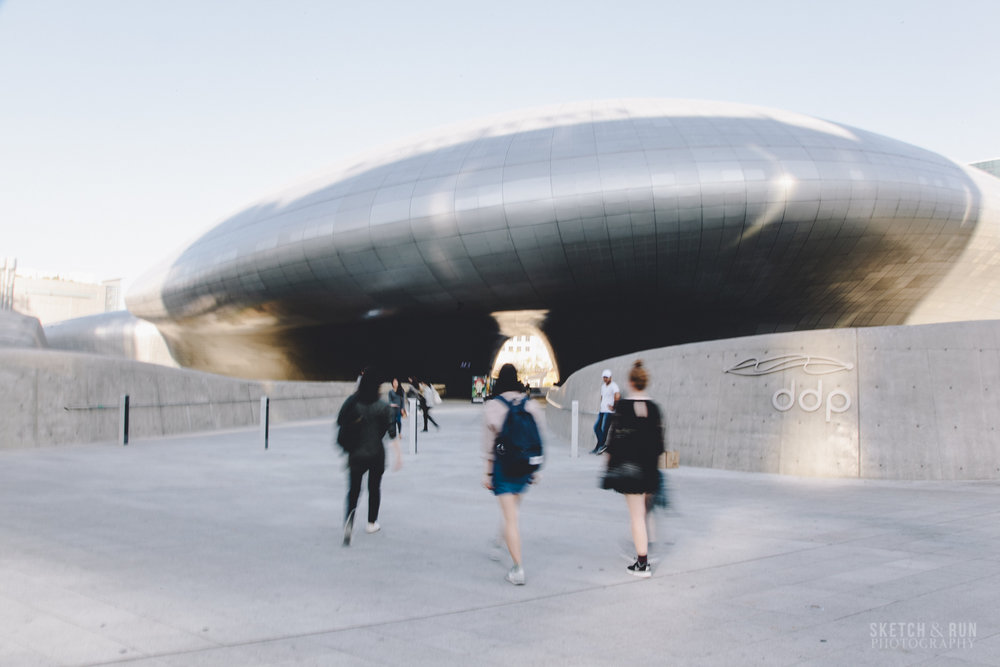 dongdaemun design plaza, seoul, south korea