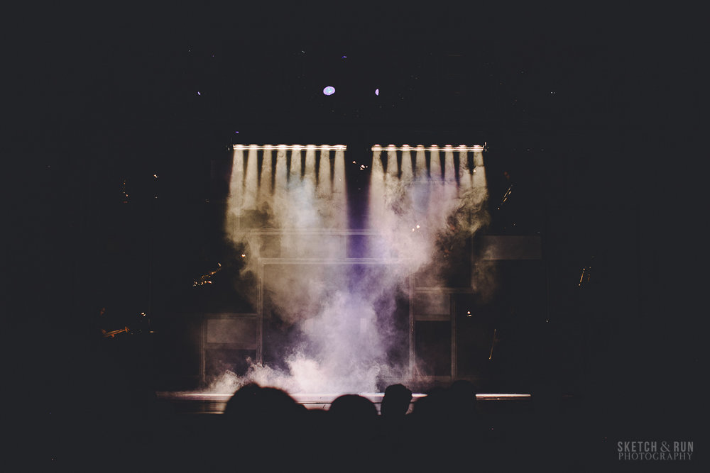performance, smoke machine, stage