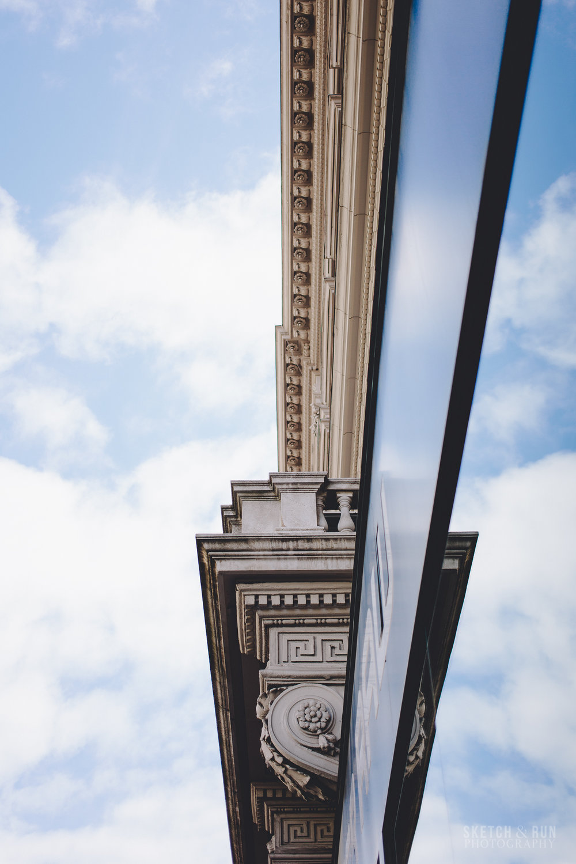 Andrassy Avenue, Budapest, Hungary, sky, street photography