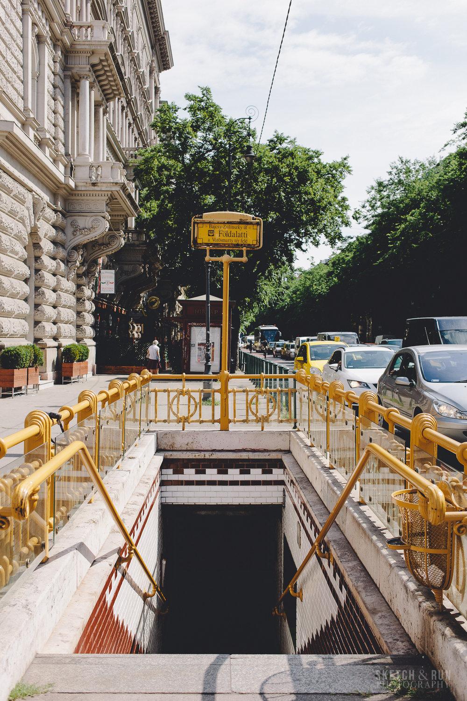 Andrassy Avenue, Budapest, Hungary, Train Station, Street photography