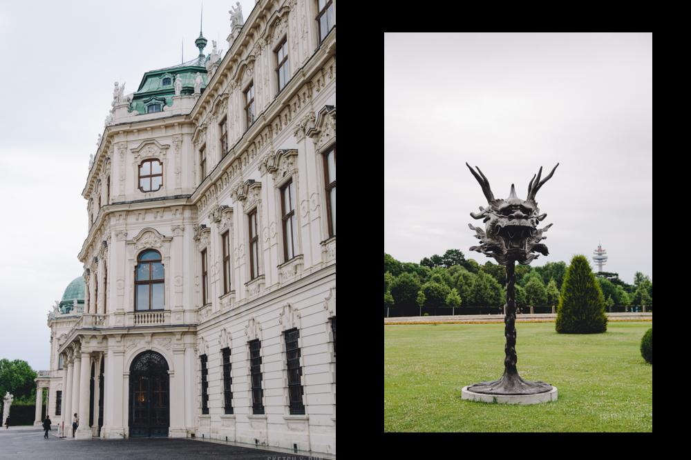 Belvedere, Vienna, Austria, Belvedere Palace, architecture