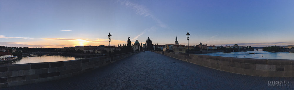 prague, czech republic, europe, cityscape, architecture, old town, charles bridge, sunrise